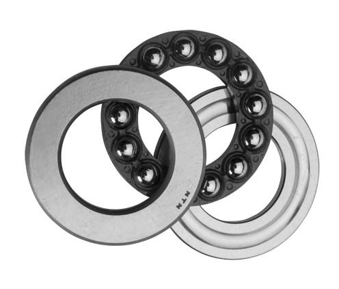 120 mm x 260 mm x 55 mm  SKF NJ 324 ECP thrust ball bearings